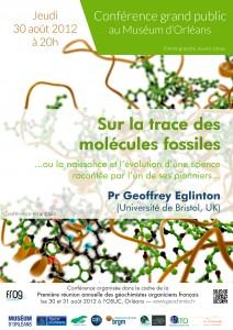 Conférencec de Geoffrey Eglinton molécules fossiles