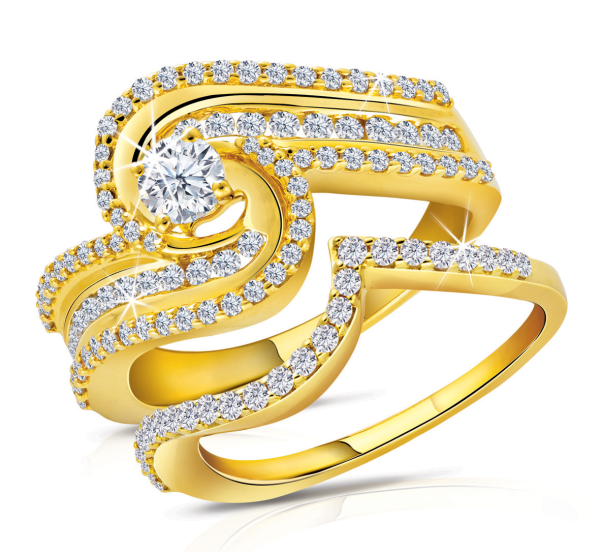 Yellow gold with tremendous range and style for eid