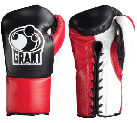 Grant Professional Fight Boxing Gloves Red