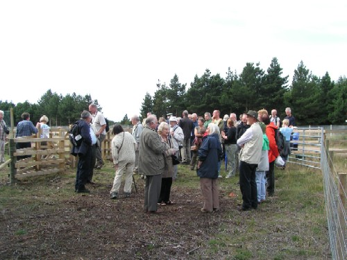 Official opening of Freshfield Dune Heath nature reserve