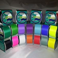 Adhesive Ripstop Nylon Repair Tape for Tents, Awnings, Kites, Sails, 16 Colours