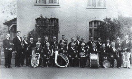 Der Verein im Jubiläumsjahr 1938