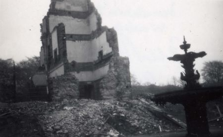 Demolition of The Hall