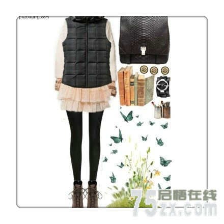 MM冬季保暖马甲 时尚清新显瘦高