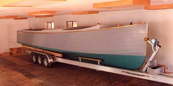 Rumrunner on trailer