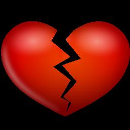 heart-broken256 伤心 破碎的心