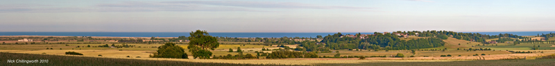 Winchelsea from the Udimore ridge, Nick Chillingworth 2010