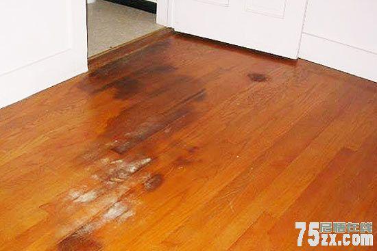 防雨水浸泡地板
