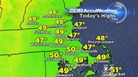 'It still feels like March instead of May and it will last into the weekend. Watch Danielle Niles's hour-by-hour forecast: http://boston.cbslocal.com/video/3395687-wbz-accuweather-morning-forecast-for-may-5/?cid=facebook_WBZ_ _CBS_Boston'