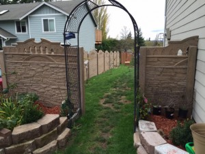 concrete fencing fence for life