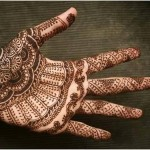 simple henna styles for brides