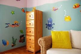 dětský pokoj - potapěč