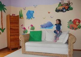 dětský pokoj - safari