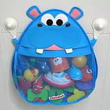 Hippo Bath Toy Organizer (Blue)