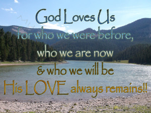 Gods Love Remains