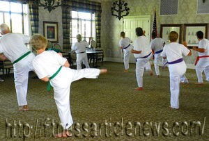 Seniors embrace martial arts, fitness classes
