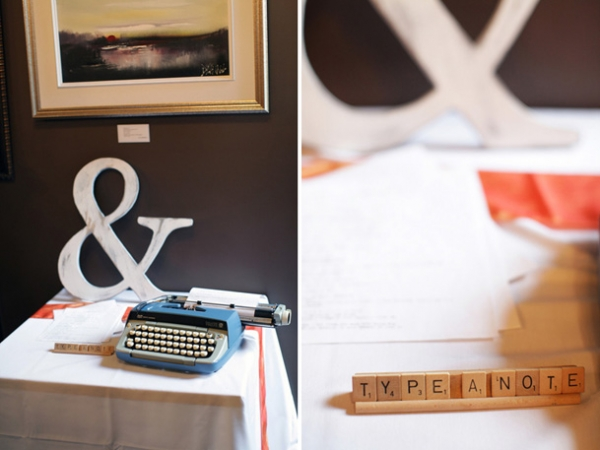 59-typewriter-ampersand-wedding-guestbook