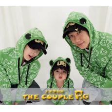青蛙加厚—COUPLE亲子装