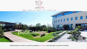 Photo du site de Plébicité