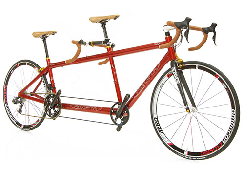 V2r Magnesium Racing Tandem from Paketa Cycles