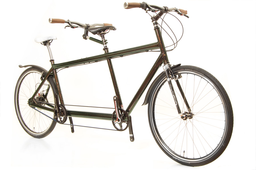 R2 Magnesium touring Tandem from Paketa Cycles