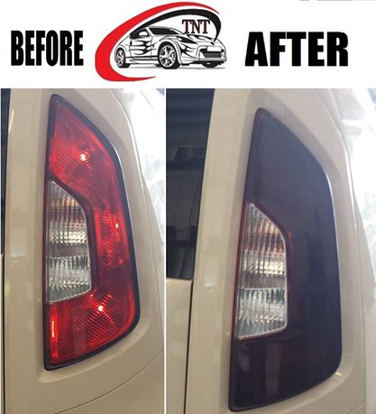 Before & After look at Taillight Tint