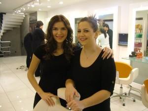 Makyaj Eğitmeni Nurgül Kolukırık ve Asistanı