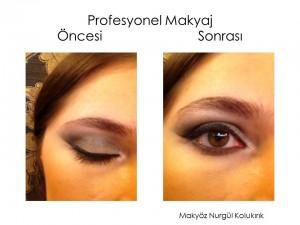 Profesyonel Göz Makyajı