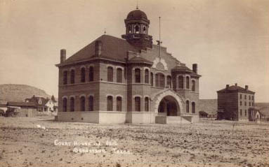 Terrell County Courthouse and Jail, Sanderson, Texas