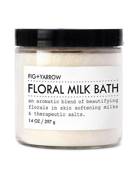 3. Fig + Yarrow Floral Milk Bath