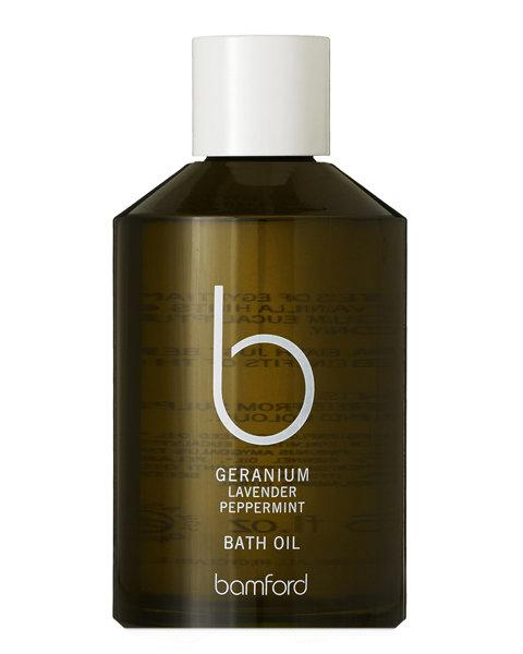 1. Bamford Geranium Bath Oil