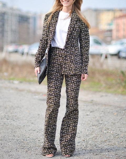 12. The Starter Printed Pantsuit