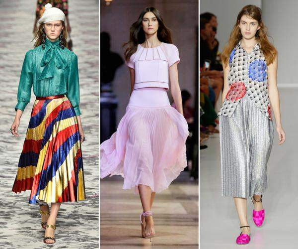 9 Reasons to Shop Spring's Pleated Skirts