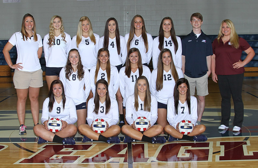 Photo for AIB volleyball concludes their season