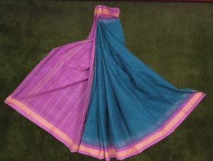 Gandhigram Muslin Fabrics Saree