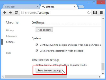 reset chrome to remove MyWay.MyWebSearch.com