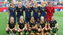 Matildas team photo