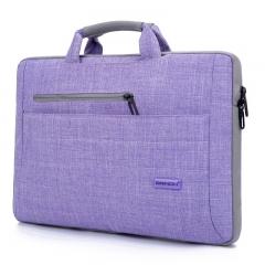 英制 三星苹果联想华硕戴尔宏基13寸13.3寸14寸 笔记本包BW-212 浅紫色