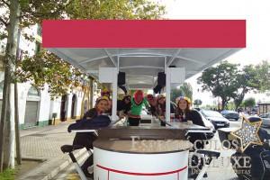 Beer Bike para despedidas de soltera y soltero en Sevilla