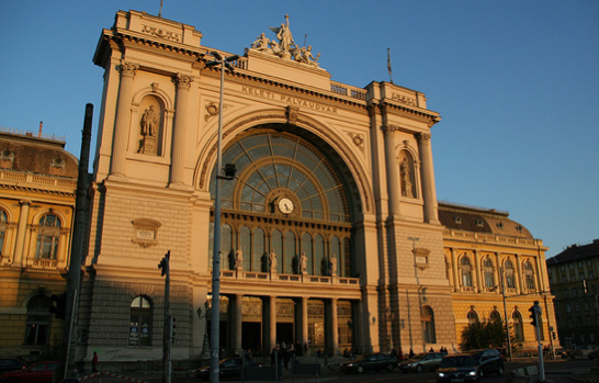 Keleti Train Station, Budapest - photo by Matt Francis