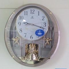 霸王牌静音时尚个性挂钟创意挂钟 个性钟表 创意时钟 时尚挂钟 简约石英钟