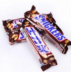士力架花生夹心巧克力51g 散装单条装 休闲零食