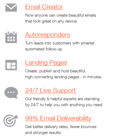 GetResponse vs iContact : the best email marketing solution