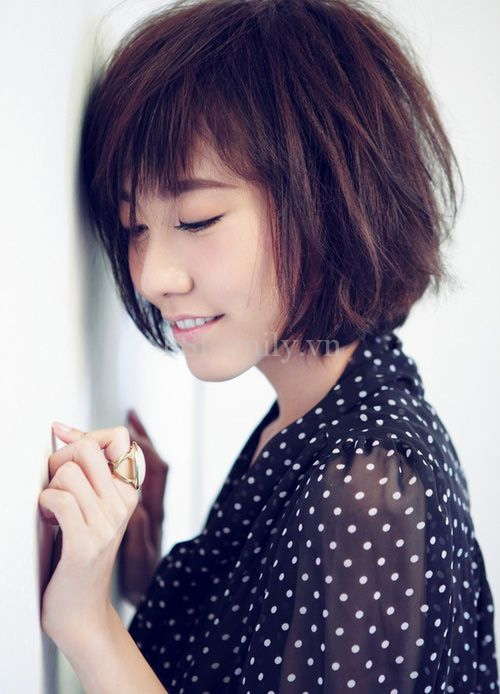 20+ kiểu tóc ngắn cực xinh cho bạn gái vào những ngày hè nóng bức HOT nhất 2015 2016