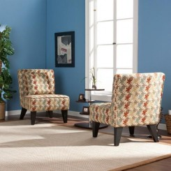 Chappell Hill Chairs and Pillows in Multicolor