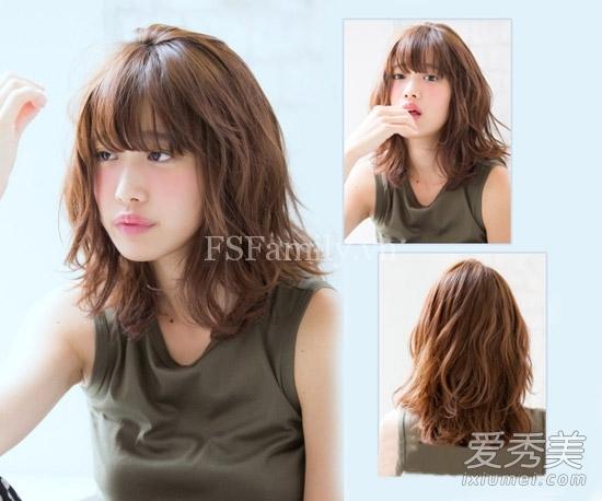 BST các kiểu tóc Uốn Xoăn phồng nhẹ Hàn Quốc duyên dáng nhất 2016 dành cho mọi khuôn mặt bạn gái