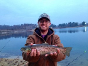 Round Valley Brown Trout - December fishing report