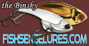 Fish Sense Lures - The Binsky