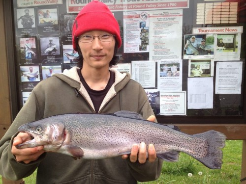 Big Rainbow Trout - May 2013 RVTA Trout Fishing Tournament Report