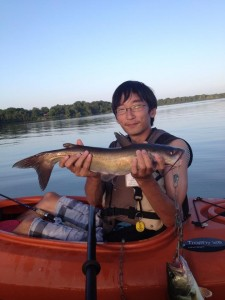 My 4.5-lb, 20-inch Channel Catfish